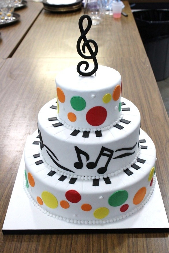 Rock Band Themed Birthday Party